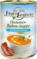 Jürgen Langbein Hummer Rahm Suppe, tafelfertig