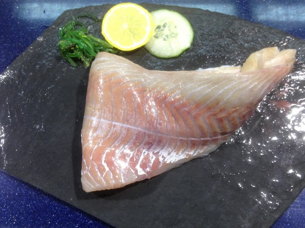 frisches Seelachsfilet ohne Haut
