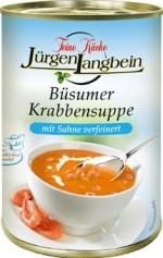 Jürgen Langbein Büsumer Krabbensuppe tafelfertig